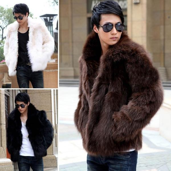 Jacket, fauxrabbitfurcoat, fur, Winter