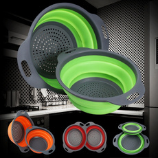 colanderfilter, Kitchen & Dining, fruitbasket, siliconecolander