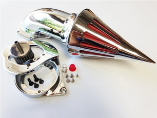 motorcycleaccessorie, aircleaner, aircleanerkit, chrome