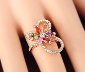 goldplated, Flowers, Genuine, Jewelry