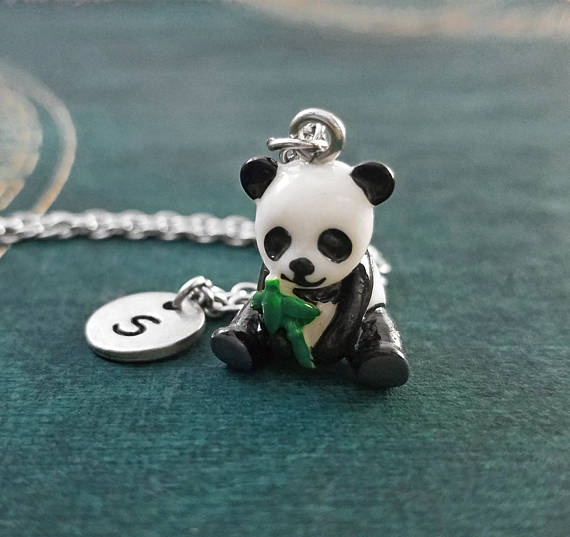 Pendant Necklace, initial, Jewelry, Chinese