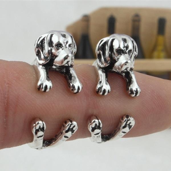 cute, puppy, Women Ring, girlsring