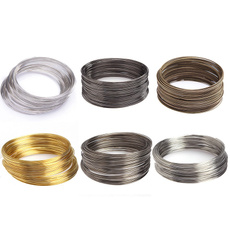 Steel, goldplated, Wire, Jewelry