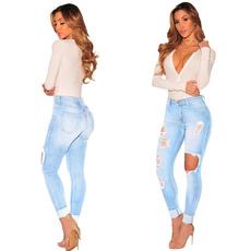 sky blue, Leggings, Fashion, pants
