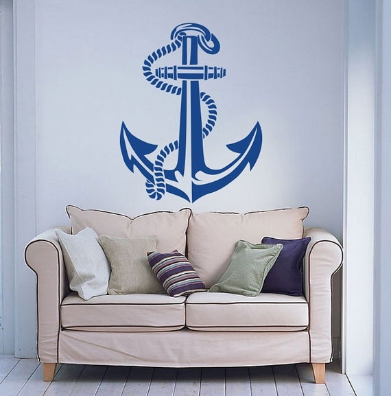 Decor, art, Anchor, kidswalldecal