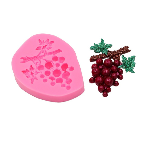polymer, grapemold, chocolatemould, candy