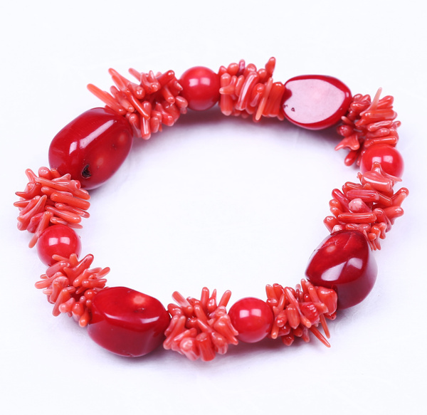 redcoralbracelet, Jewelry, Gifts, Bangle