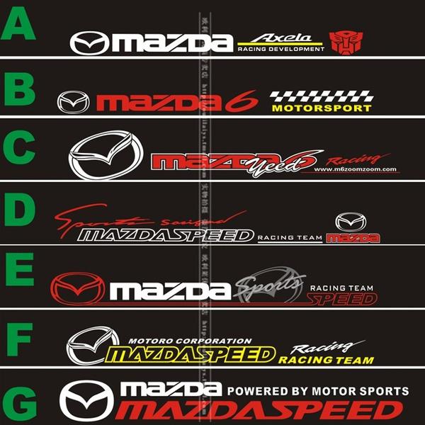 Car Sticker, mazdaspeed, Cars, mazdasticker