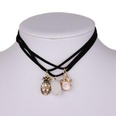 clavicle  chain, velvet, Jewelry, Chain