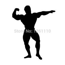 Funny, Fashion, silhouette, bodybuilder