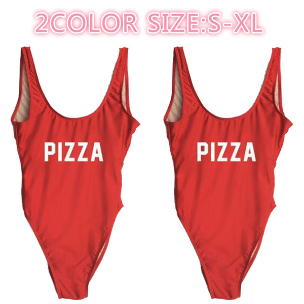 bathing suit, funnyswimsuit, letter print, Funny