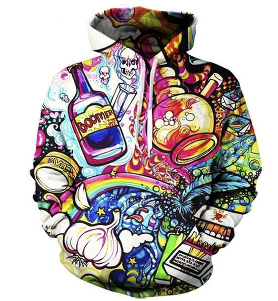 3D hoodies, 3danimalhoodie, 3dsporthoodie, skull