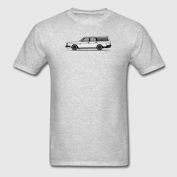ghost, brickvolvo245240wagontransparentghostprint, Funny T Shirt, onecktshirt