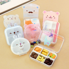 Kawaii, Mini, Container, Tablets