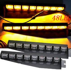 amber, Bright, 48ledstrobeflashlight, New arrival
