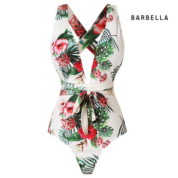 bathing suit, Fashion, Floral, Waist