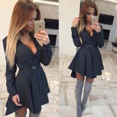 #Summer Clothes, Fashion, sleeve dress, Ladies Fashion