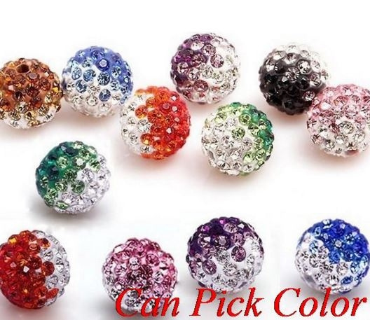 crystalbead, Colorful, micropave, gradient