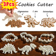 Bakeware, biscuitcuttermold, Decor, Dinosaur