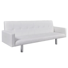 leather, Sofas, white, Modern