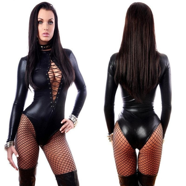 latex, Cosplay, leather, Women's Fashion
