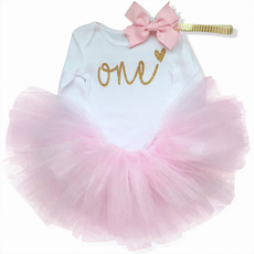 cute, babyromperjumpsuit, Fashion, firstbirthdaydre