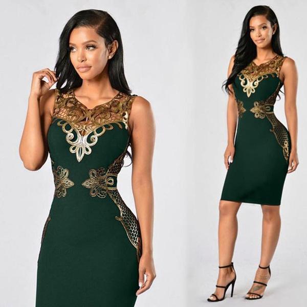 Beautiful, sleeveless, Lace, Mini