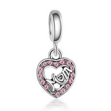 Heart, Fashion, 925silvercharm, Jewelry