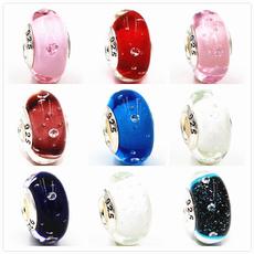 925silvergalssbeadsbracelet, Jewelry, Czech, Glass