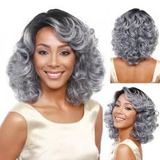 wig, Gray, Shorts, bobwig