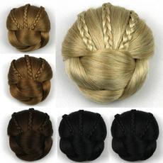 wig, hairbun, chignon, hair