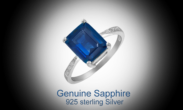Sterling, Blues, Jewelry, Bracelet