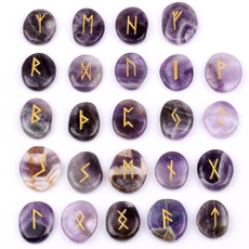 Stone, quartz, pounchbag, runesstone