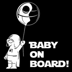 Car Sticker, babyincarsafetysignsticker, Funny, Cars