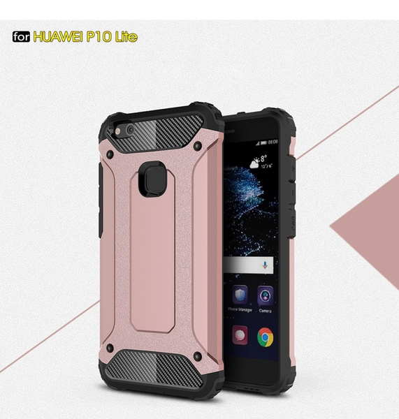 Phone Cases for Coque Huawei P10 Lite Phone Case Silicone Cover For Huawei P10 Lite Case Shockproof Hard Tough Rubber Hybrid Armor | Wish