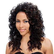 wig, brown, africanamericanwig, Beauty