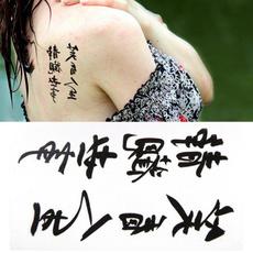 tattoo, Fashion, Chinese, Waterproof