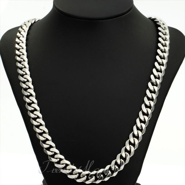 Steel, Stainless, mens necklaces, Stainless Steel