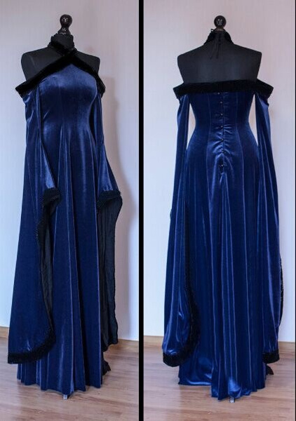 gowns, Cosplay, Medieval, Sleeve