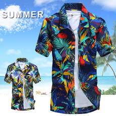men's dress shirt, Shorts, leaf, Shirt