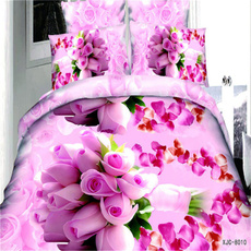 pink, Flowers, Case Cover, bedclothe