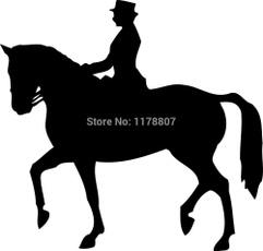 Funny, horse, horseriding, art