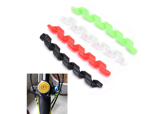 Details about  /Bike Bicycle Brake Cable Protective Sleeve Pipe Derailleur Shift Housing Cover