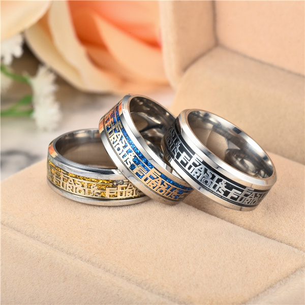 Steel, fastfuriousring, Jewelry, Stainless steel ring
