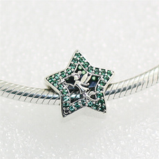 Sterling, Charm Bracelet, Silver Jewelry, Star