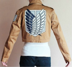 Attack on Titan backpack, Chaqueta, scouting, Moda