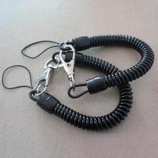 retractable, Jewelry, Chain, keychainkeyring