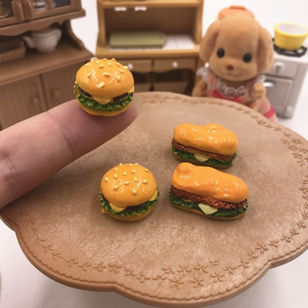 Mini, foodtoy, Hamburger, Garden
