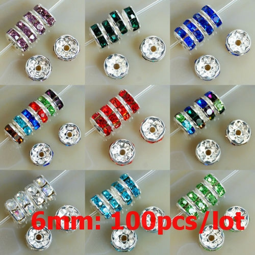 Fashion, Jewelry, rondellespacerbead, loose beads