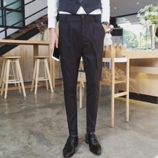 brown, mensdresspant, trousers, casual fashion